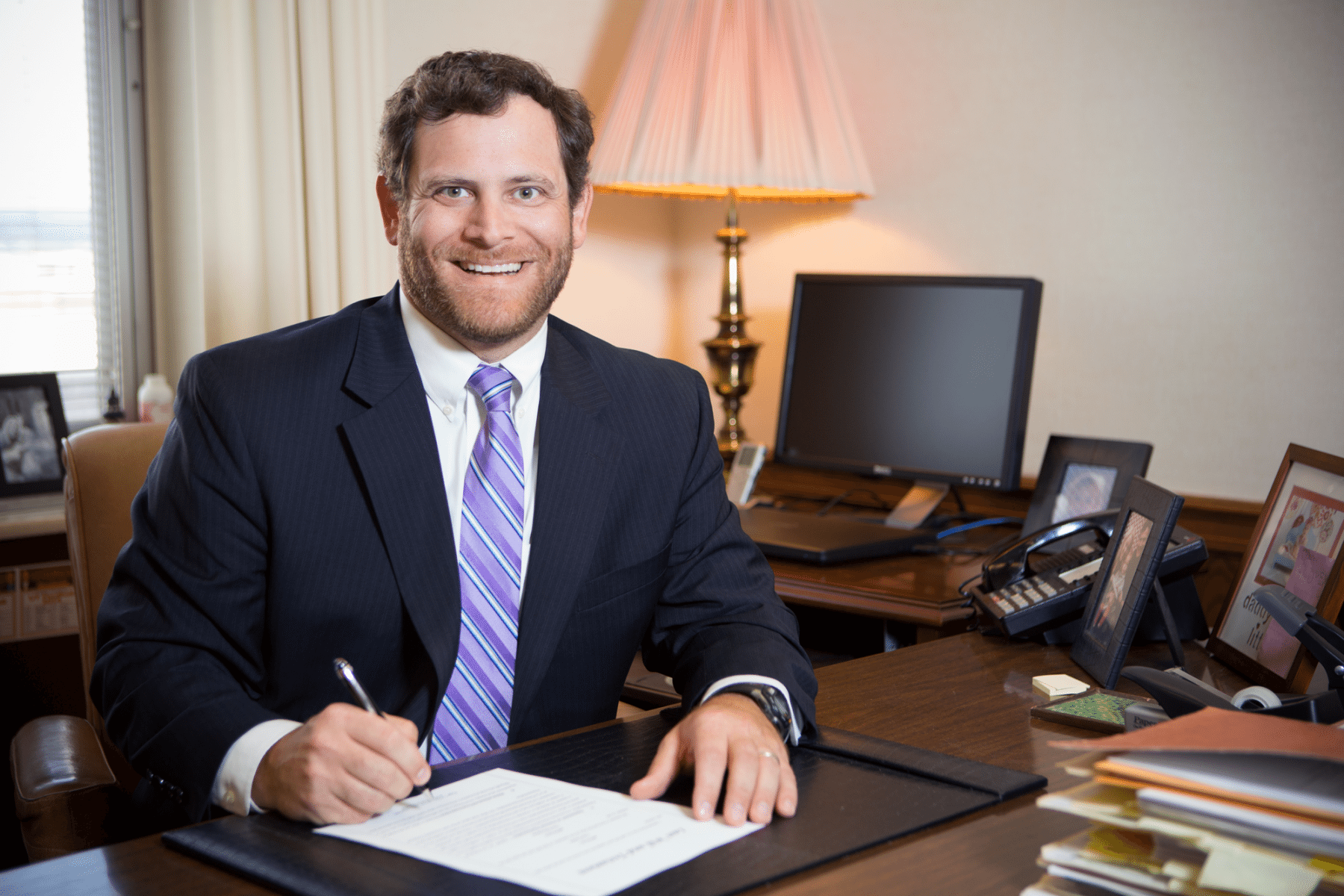 S. David Lipsey, Knoxville Attorney with Lipsey, Morrison, Waller, & Lipsey, P.C.